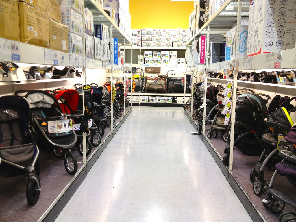 You can find high-quality and affordable children's clothing here. Create a safe haven for your new baby with some of these nursery furniture items from Babies R Us. At this store, you can find high-quality child care services that you can count on. Block off your stairs and other dangerous home pathways with a baby safety gate from Babies R Us.