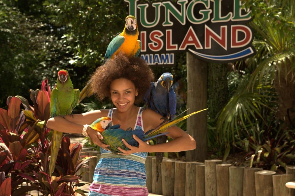 Ponto Miami O que fazer em Miami Jungle Island 3