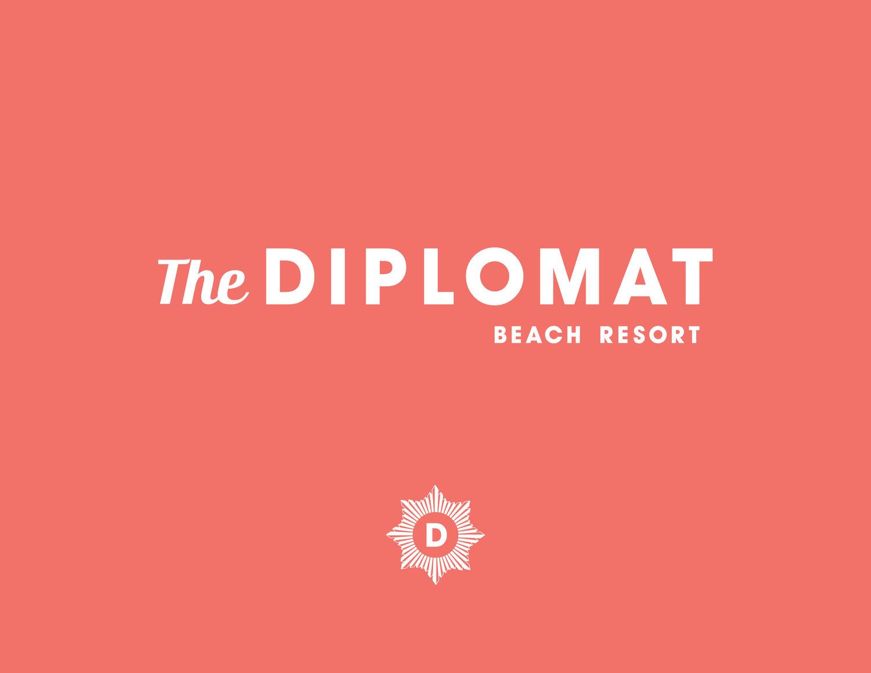 Ponto Miami Hotel em Miami Diplomat Logo 1