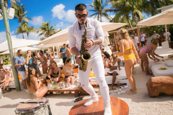 Ponto Miami Balada em Miami Nikki Beach NEW 002