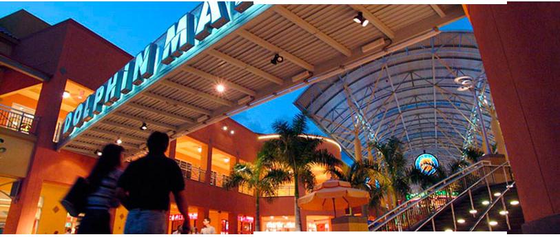 Ponto Miami Compras em Miami Dolphin Mall 2
