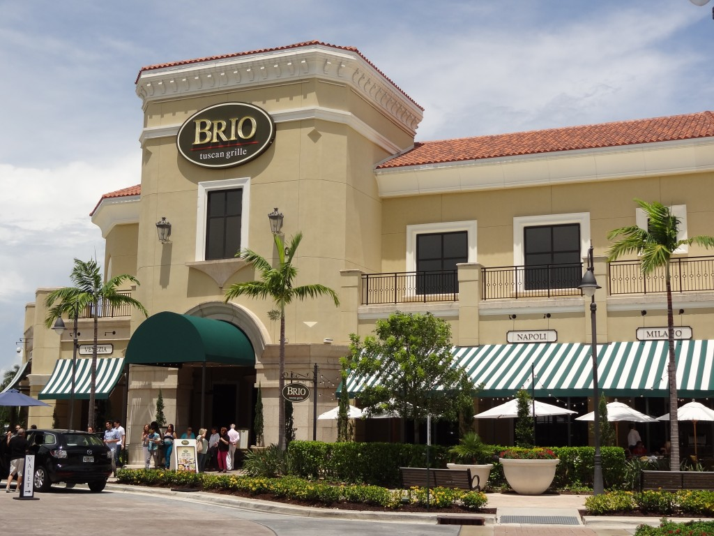 Brio Restaurant Miami Beach