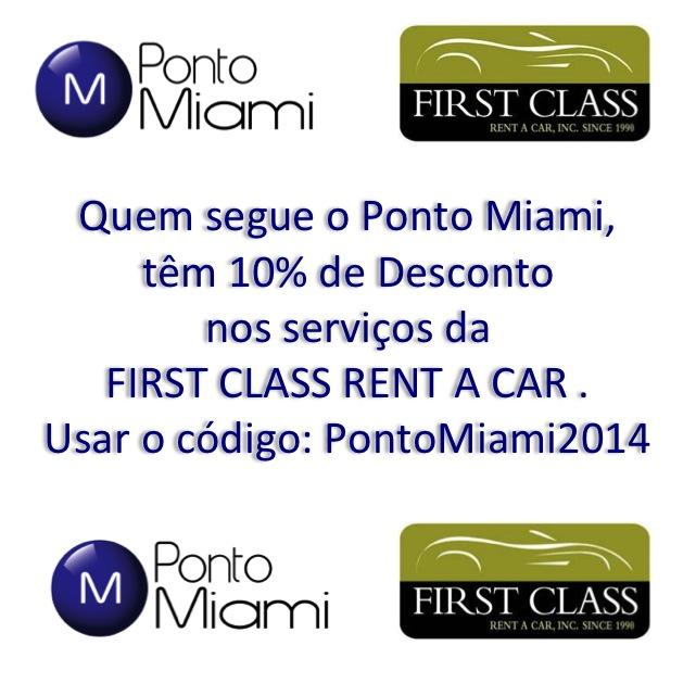 Ponto Miami Aluguel de Carros de Luxo em Miami First Class 1