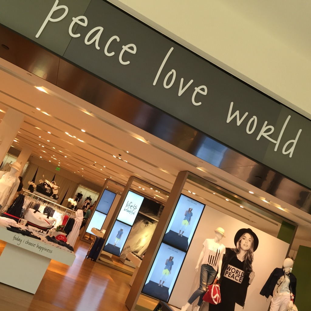 Ponto Miami Lojas em Miami Compras em Miami Peace Love World 4