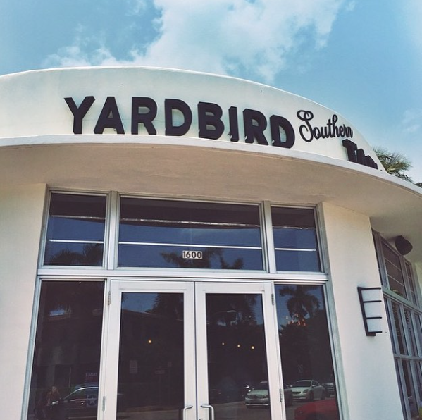 Ponto Miami Restaurantes em Miami Yardbird NEW 001