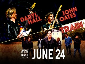 Hall & Oates + Train