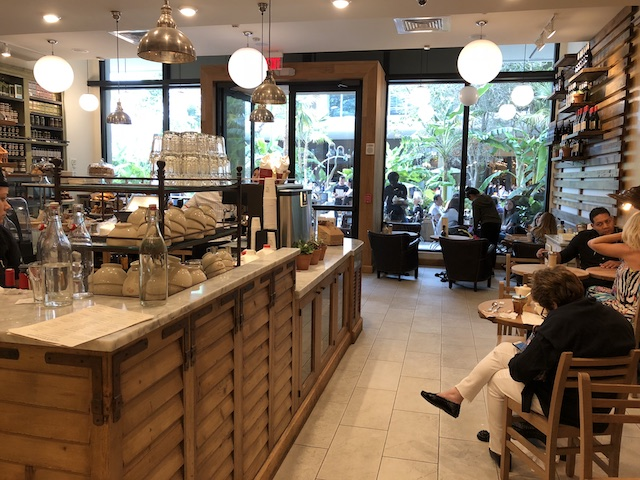 Ponto Miami Restaurantes em Miami Le Pain Quotidien New 004