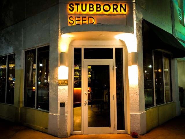 Ponto Miami Restaurante em Miami Stubborn Seed 002