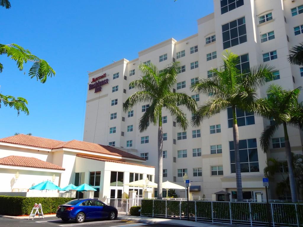Ponto Miami Hoteis em Miami Residence Inn Aventura Mall 1