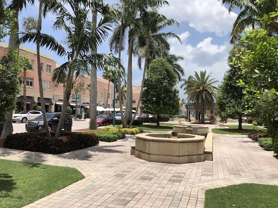 Ponto Miami Dicas de Boca Raton Mizner Park NEW 004