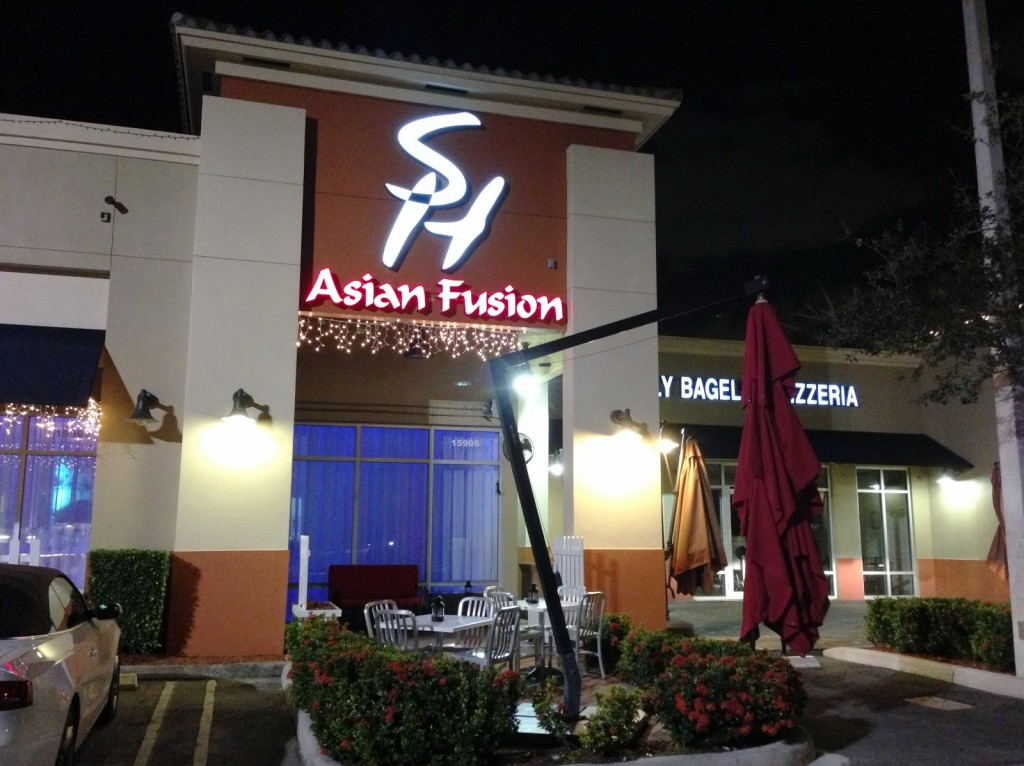 Ponto Miami Restaurantes em Miami Sushi House 1