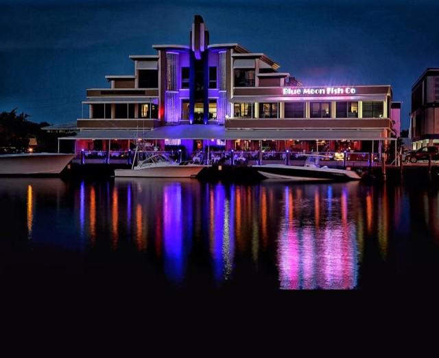 Ponto Miami Restaurantes em Fort Lauderdale Blue Moon Fish Company NEW 001