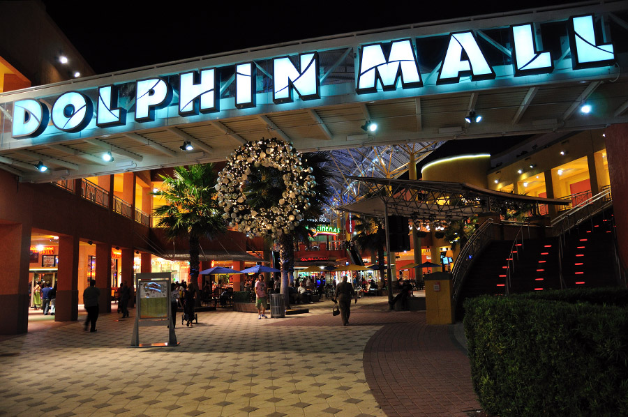 Ponto Miami Compras em Miami Dolphin Mall 4