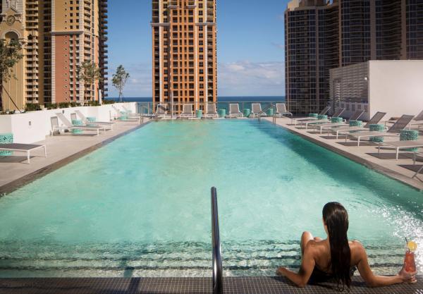 Ponto Miami Hotel em MIami Residence Inn Sunny Isles 005