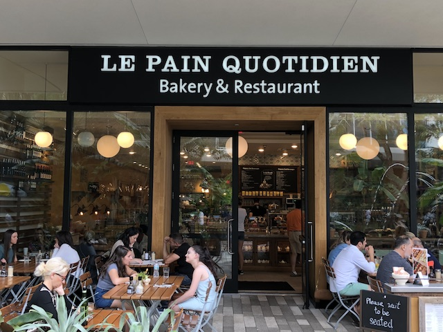 Ponto Miami Restaurantes em Miami Le Pain Quotidien New 002