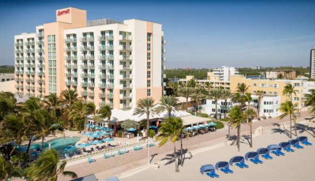 Ponto Miami Hoteis em Miami Marriott Hollywood 002